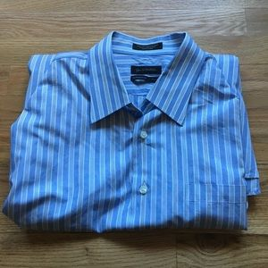 Men's John W Nordstrom Collar Shirt 17.5/35